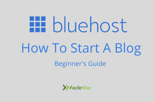 How to start blogging with bluehost