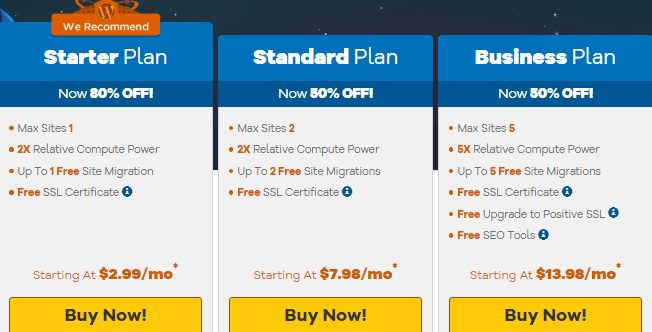 best cheap web hosting plans hostgator