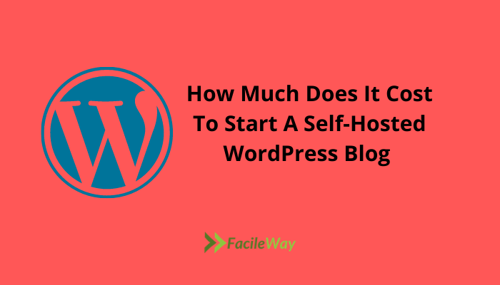 How Much Does It Cost To Start A Self-Hosted WordPress Blog