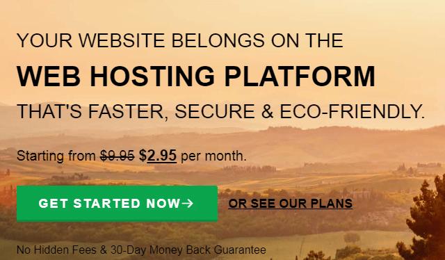 free or self hosted blogging platform