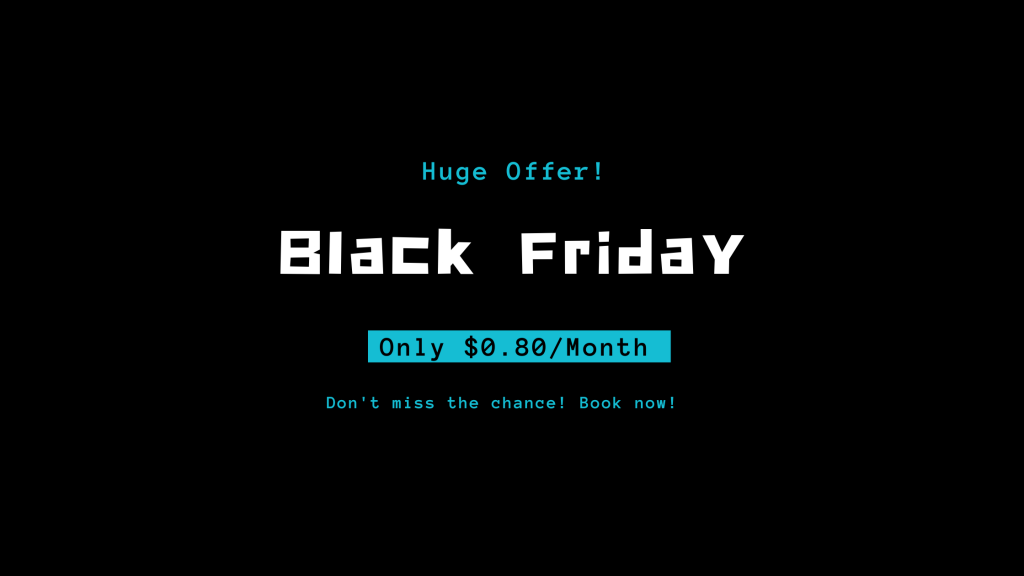 Hostinger Black Friday Deal 2021