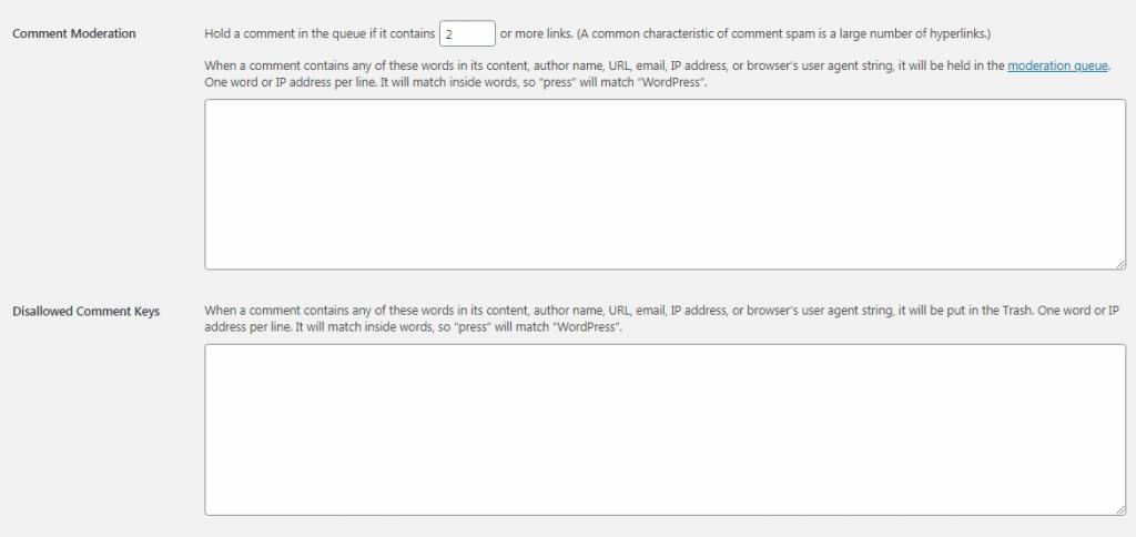 How to configure WordPress Setting