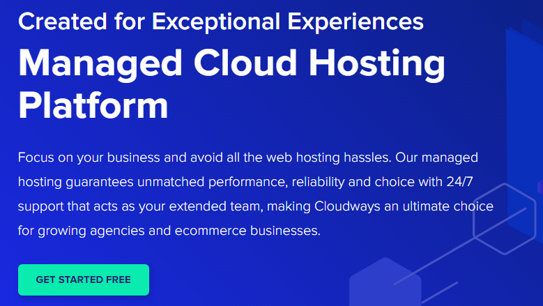 CloudWays Web Hosting Free Trial