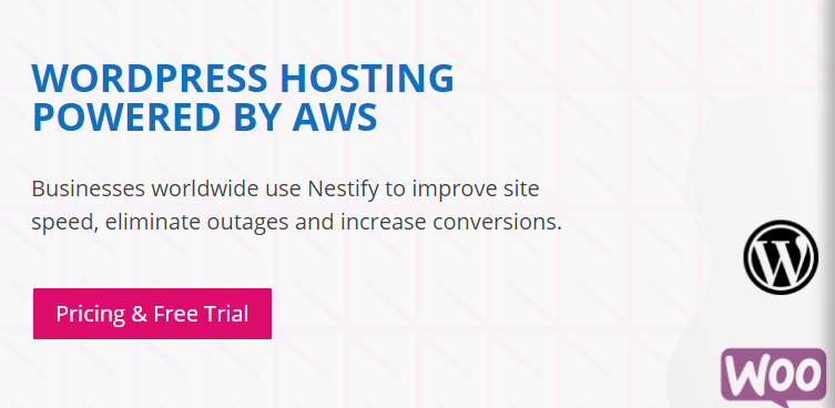 Nestify Web hosting free trial