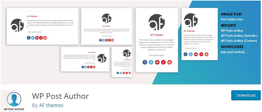 WordPress author box