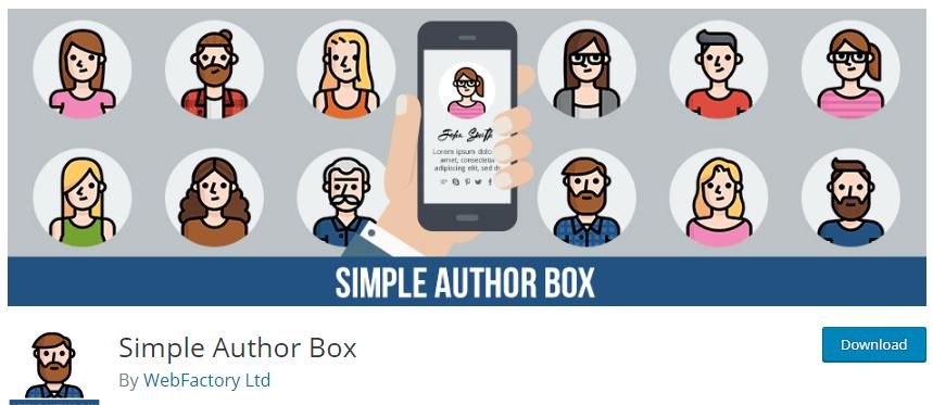 Free WordPress Author Box
