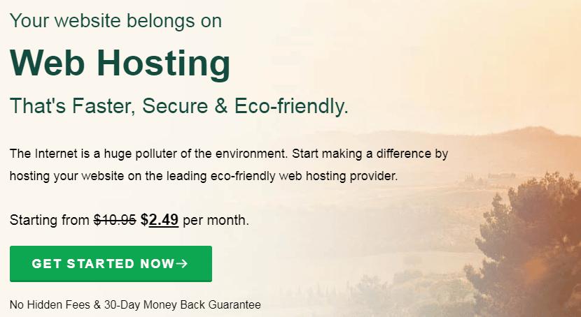 Greengeeks eco friendly company