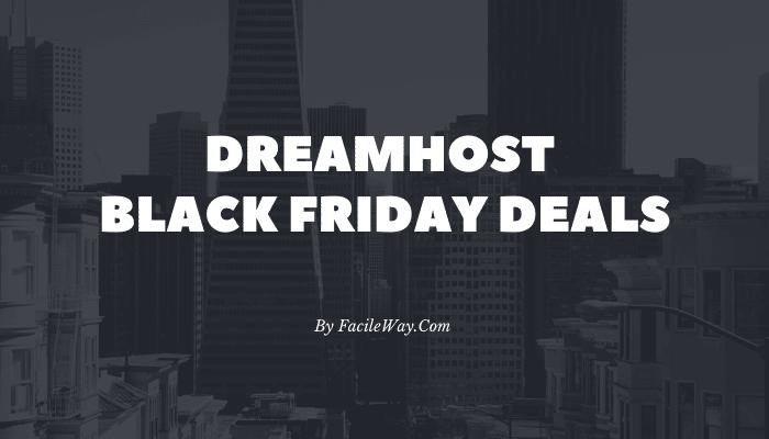 Dreamhost black friday deals