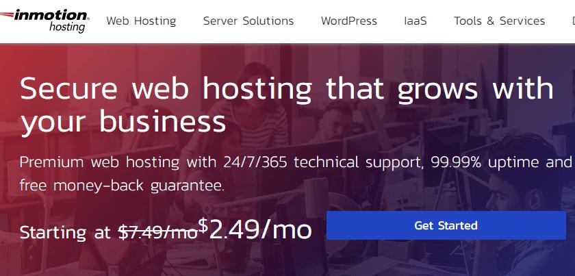 Inmotion web hosting money back guarantees