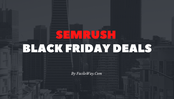 SEMrush Black Friday Deals 2020
