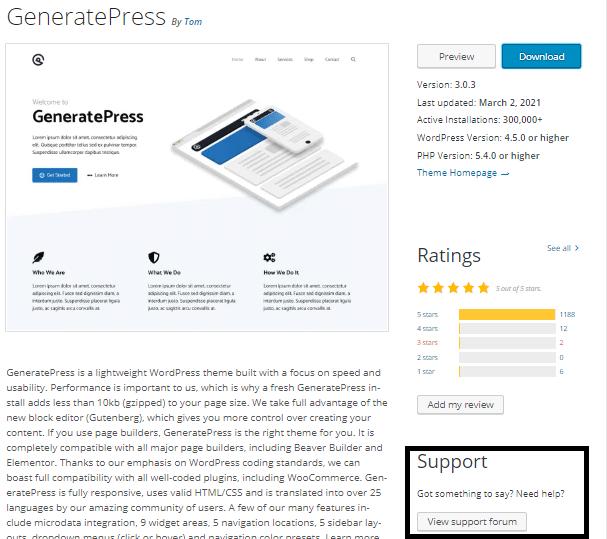 Choose a perfect WordPress theme.