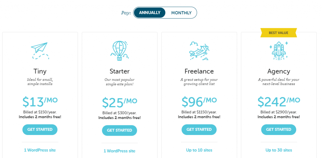Flywheel web hosting that accepts PayPal