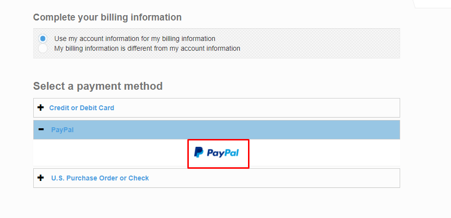 Web hosting that accepts PayPal