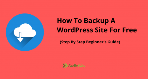How To Backup A WordPress Site For Free