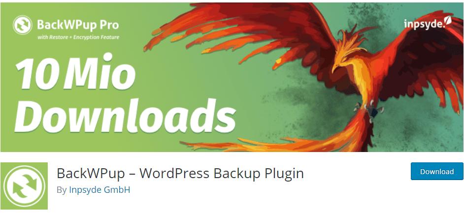 best WordPress backup plugins