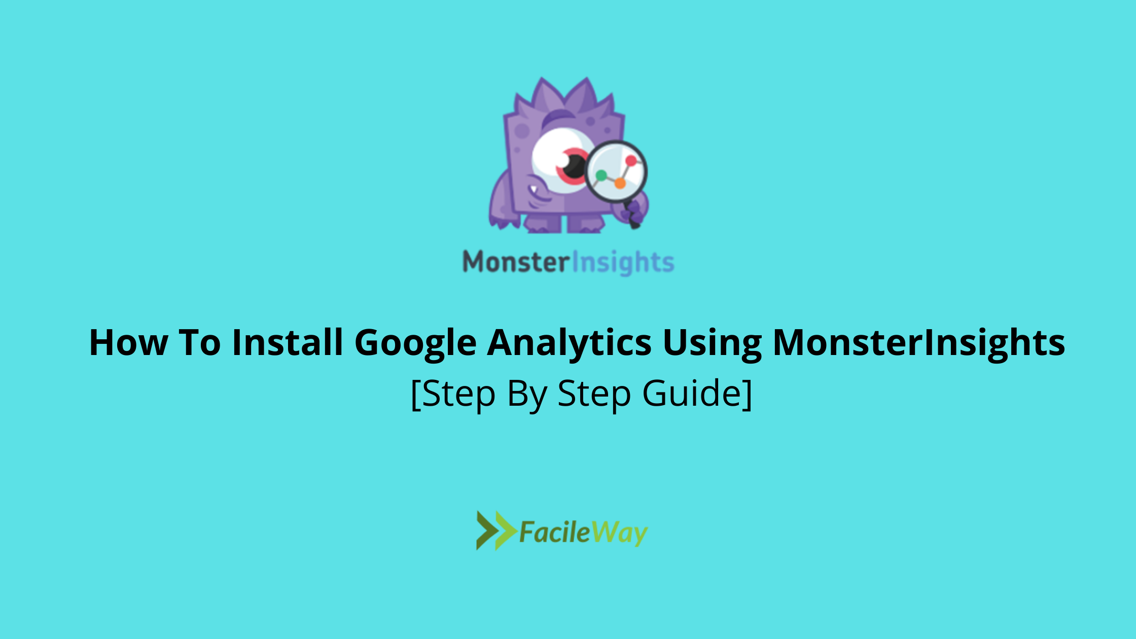 How To Install Google Analytics Using MonsterInsights [Step By Step Guide]
