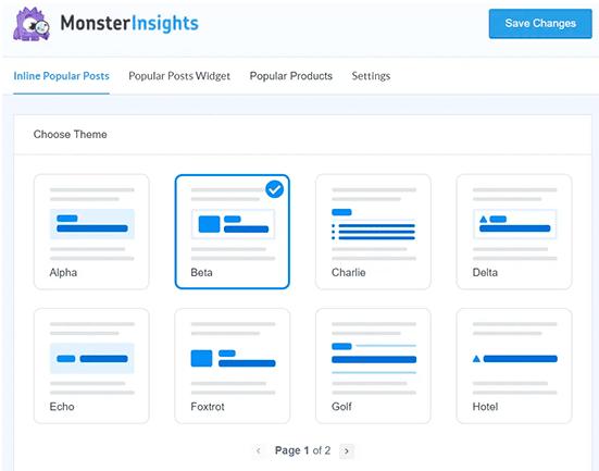 Install google analytics using MonsterInsights