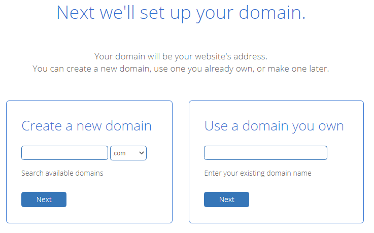 Buy web hosting with a free domain name