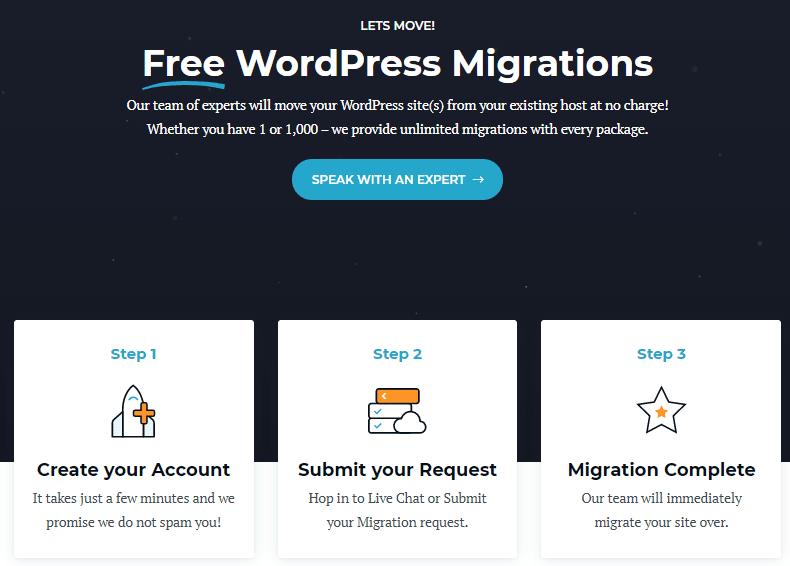 Rocket.net site migration