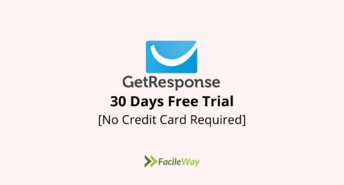 GetResponse free trial