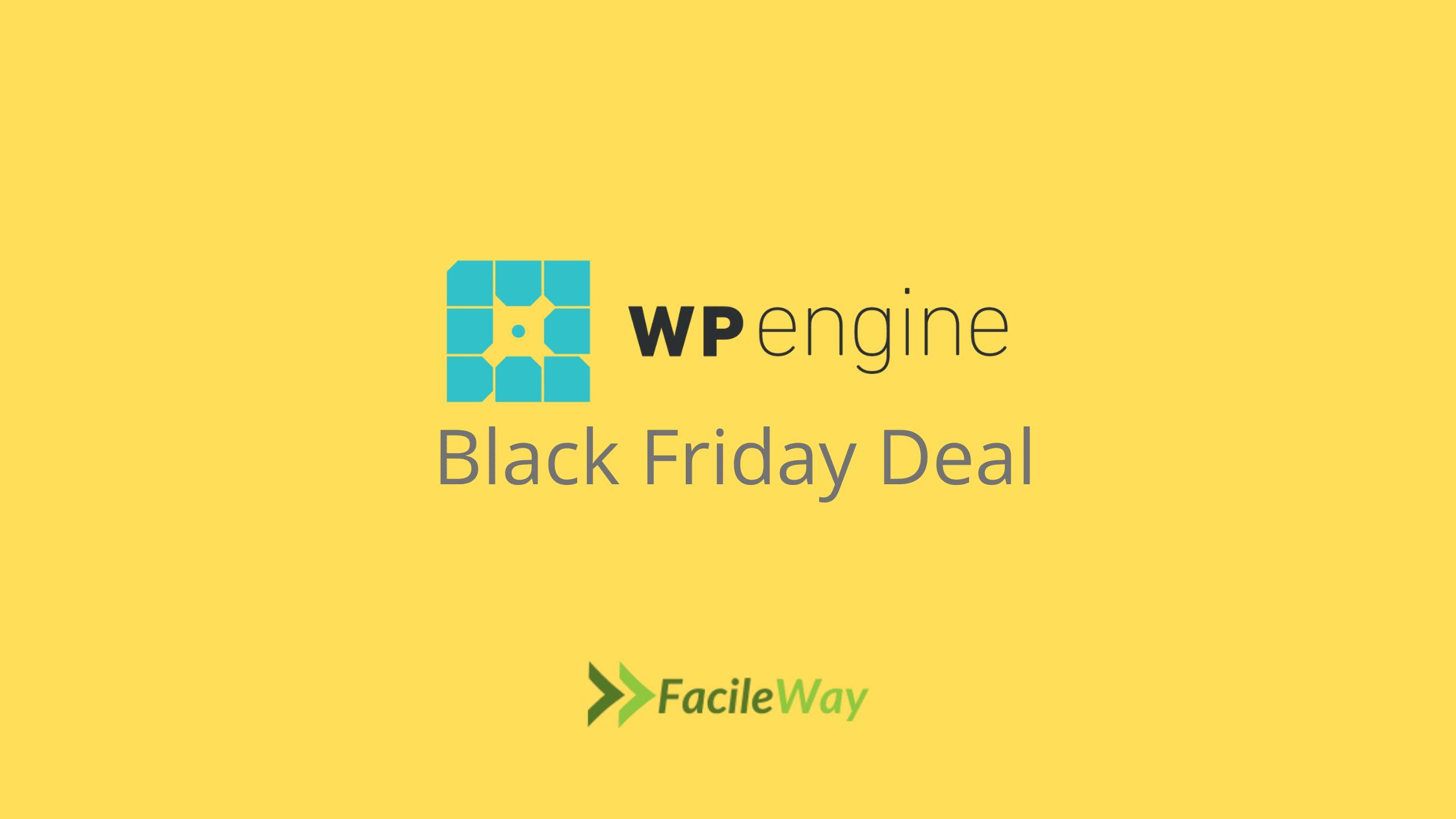 WP Engine Black Friday Deal