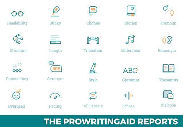 The ProWritingAid Reports